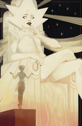 [Steven Universe] White Diamond. by cacogenic