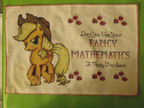 My Little Pony: Applejack Cross Stitch