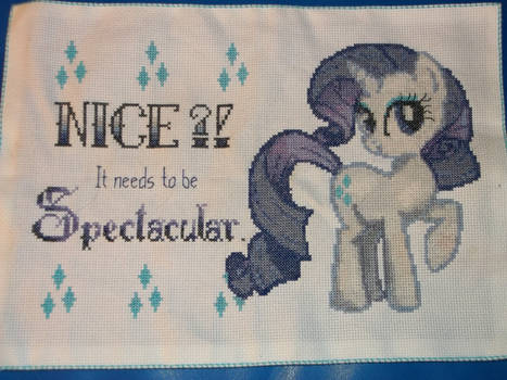 My Little Pony: Rarity Cross-Stitch