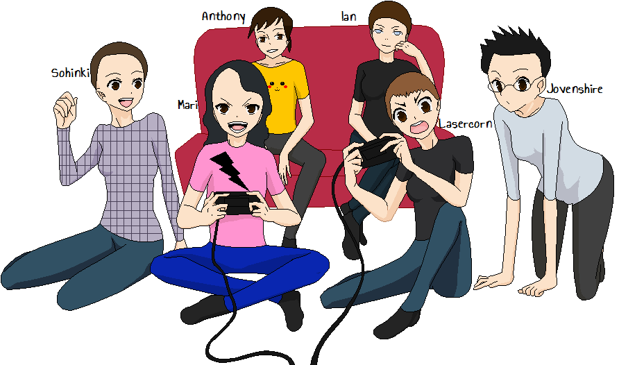smosh games genderswapped by chazzet27 on deviantart