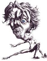 Me nude caricature by WadeFurlong