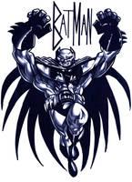 BOOM.............BATMAN by WadeFurlong