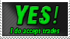 Yes to Trades Stamp by Ravenclaw105