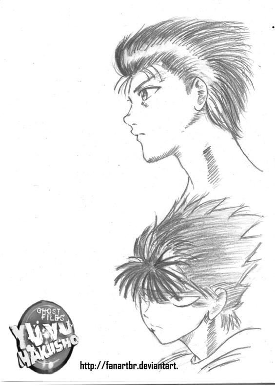 meus desenhos Yusuke_e_hiei_by_fanartbr-d5347du