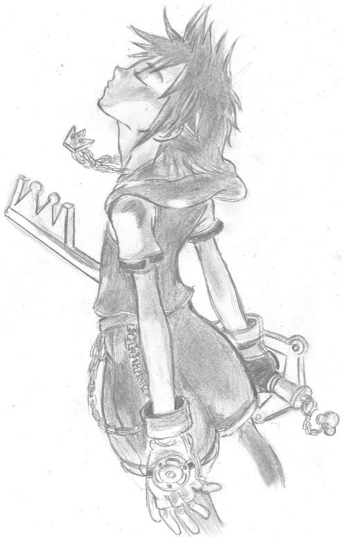 meus desenhos Kingdom_hearts__sora__by_fanartbr-d5kl25o