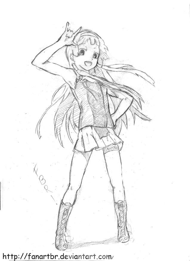 meus desenhos Kannagi__crazy_shrine_maidens_nagi__sketch_by_fanartbr-d5ksum2