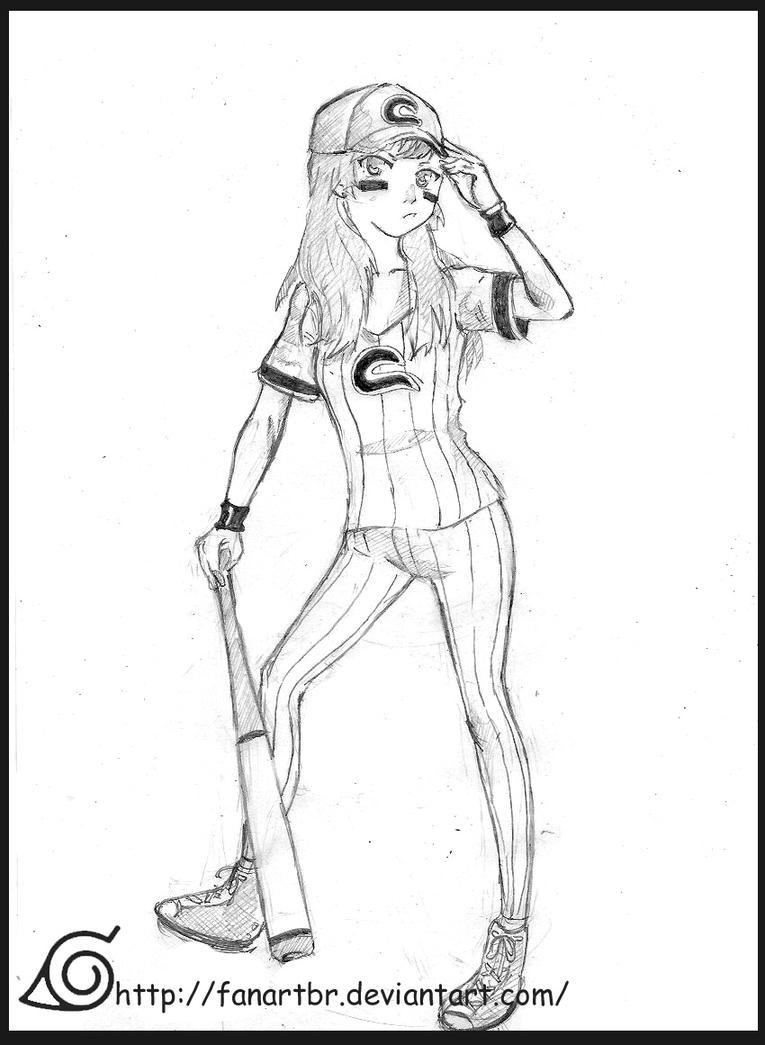 meus desenhos Baseball_girl_by_fanartbr-d5lonwd
