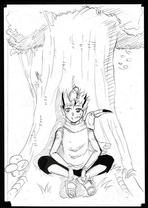 meus desenhos Guardiao_da_floresta_by_fanartbr-d5nazrw