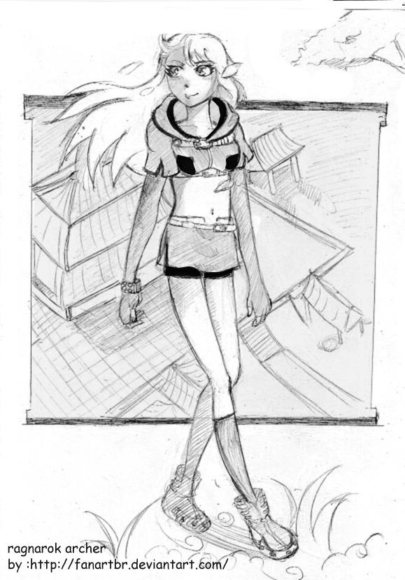 meus desenhos Ragnarok_archer_by_fanartbr-d5nplxa