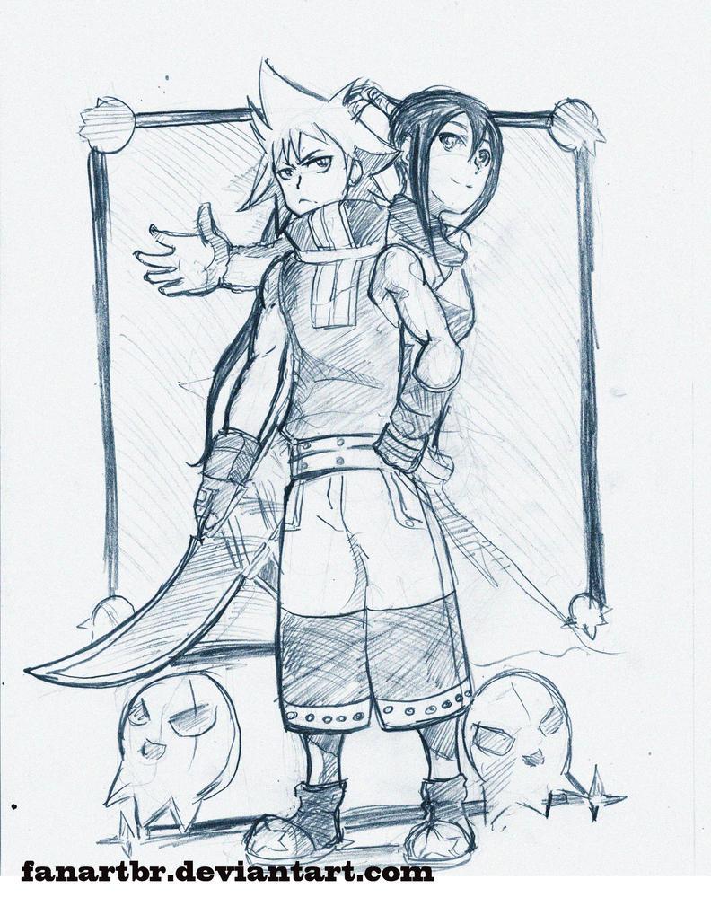 meus desenhos Black_star_sketch_by_fanartbr-d64weae