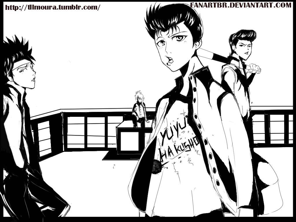desenhinhos do chaos - Página 3 Yusuke_gang_by_fanartbr-d676gts