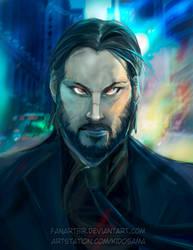 John Wick-back in the game by fanartbr