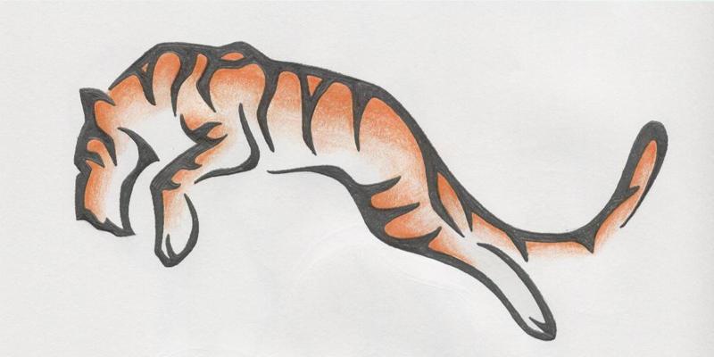 tiger tattoo design by lmai on deviantart. Black Bedroom Furniture Sets. Home Design Ideas