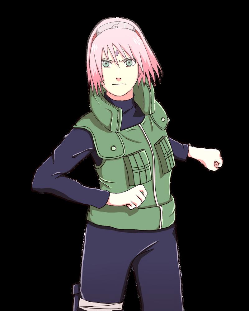 Haruno Sakura by ToshaLG on DeviantArt