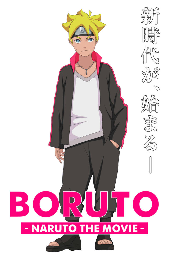 Boruto the Movie by ToshaLG