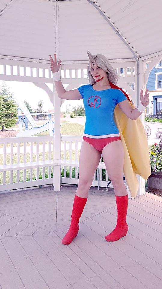 kinnikuman lady cosplay by ZeeKayArt