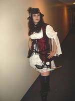 Piratey wench by Idzit