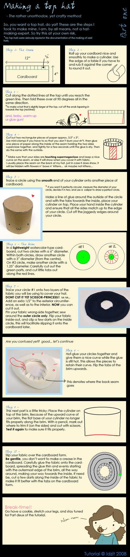 Top Hat Tutorial 1 by Idzit