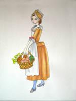 18th century maid by Idzit