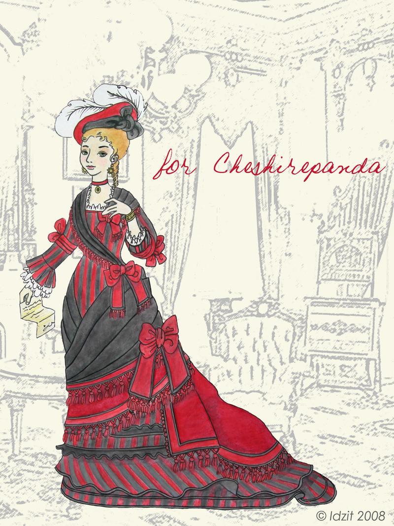 Victorian dress c1870 by Idzit