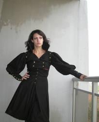 Steampunk coat 02 by Idzit