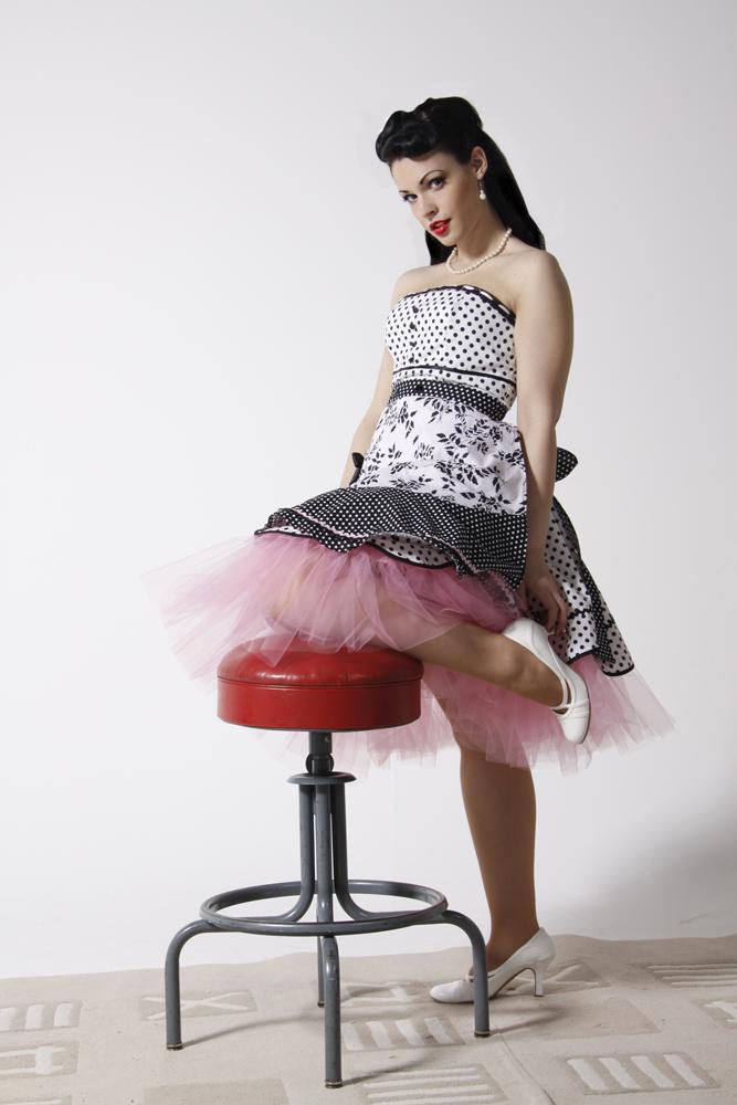 Polkadot dress 02 by Idzit