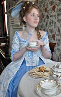 Duchesse d'Orleans at tea 01 by Idzit