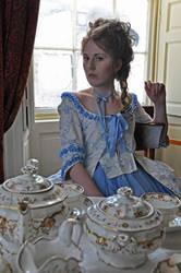 Duchesse d'Orleans at tea 02 by Idzit