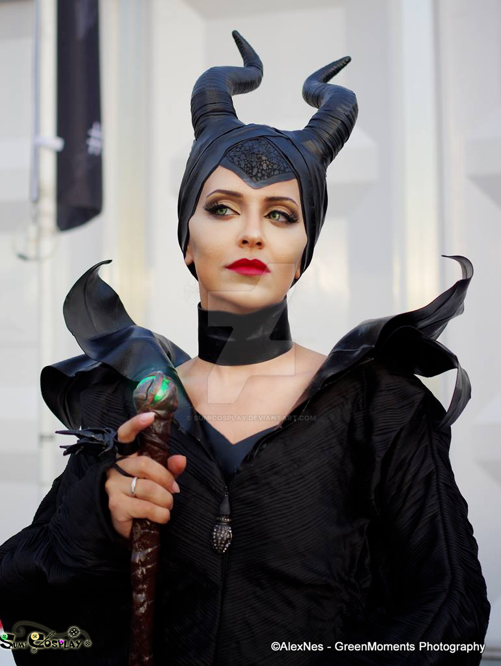 Halloween Costumes Maleficent Cosplay By Sumicosplay On Deviantart