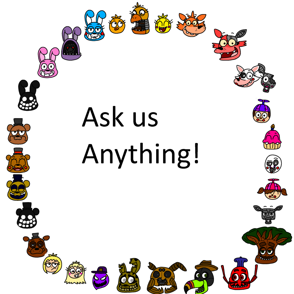 Ask the fnaf 2 crew new characters by askthefnafgang on deviantart