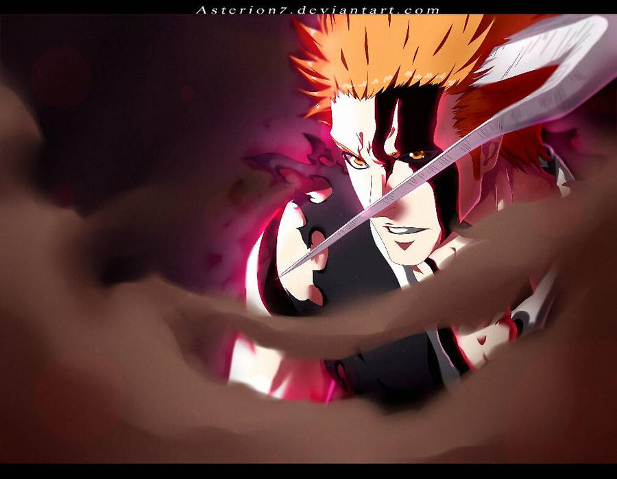 Ichigo new form bleach 175 by asterion7 by Asterion7 on DeviantArt