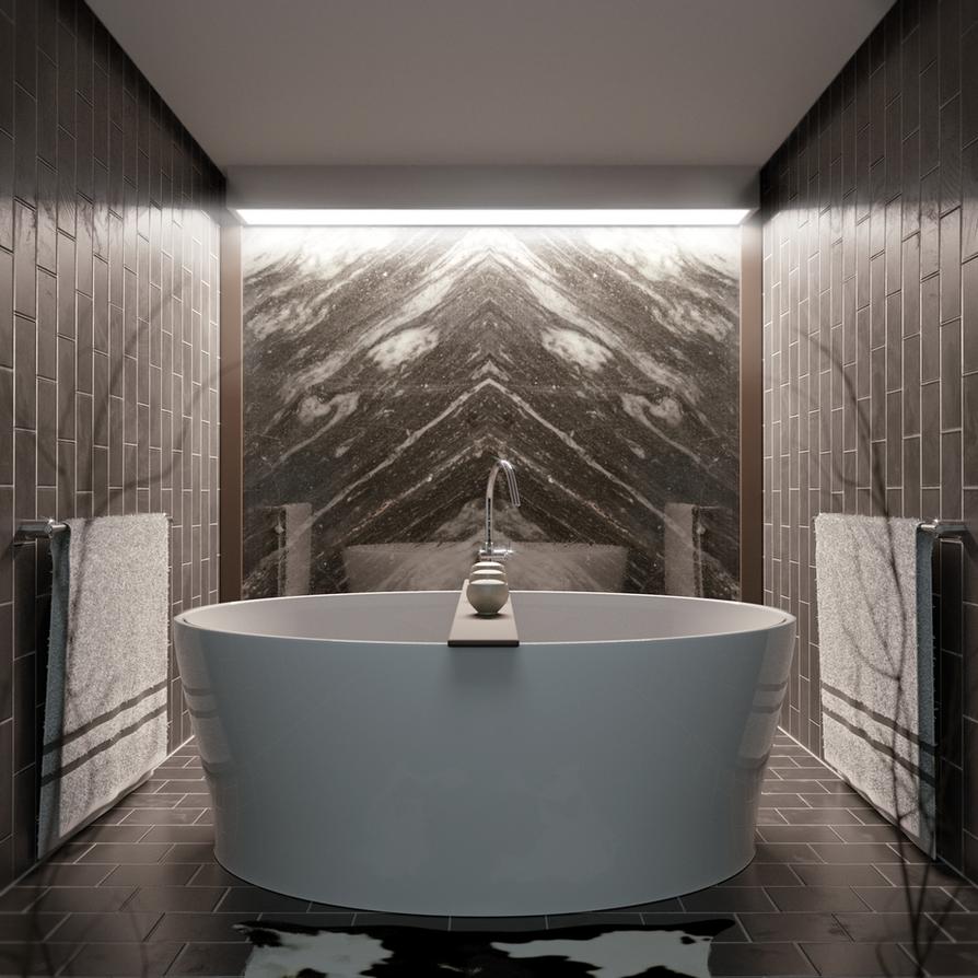 Bathroom by JJampy