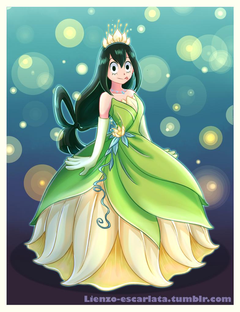 Princess Asui Tsuyu by Lienzo-escarlata