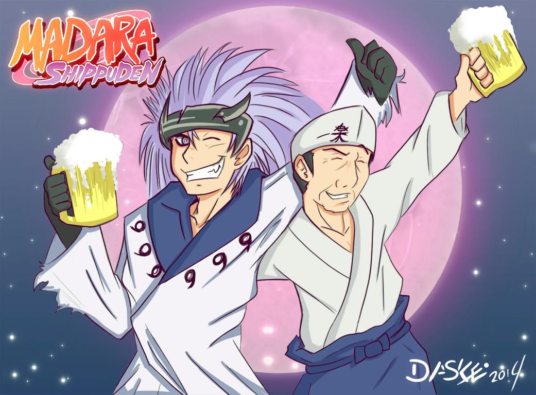 Naruto - Madara Shippuden by Daske-san on DeviantArt