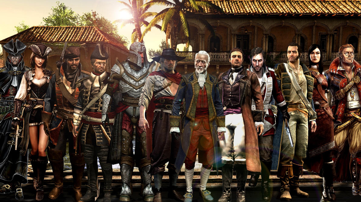 Wallpaper download john abraham - Assassin S Creed Iv Black Flag Caribbean Templars By
