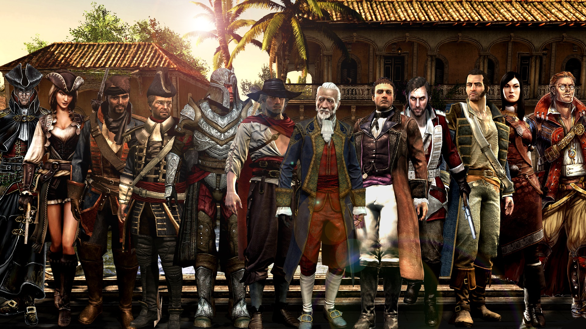 Assassin S Creed Iv Black Flag Caribbean Templars By