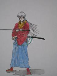 Coloured Sesshoumaru