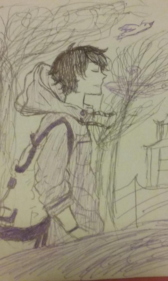 Walking into fall weather by xxFishKoixx