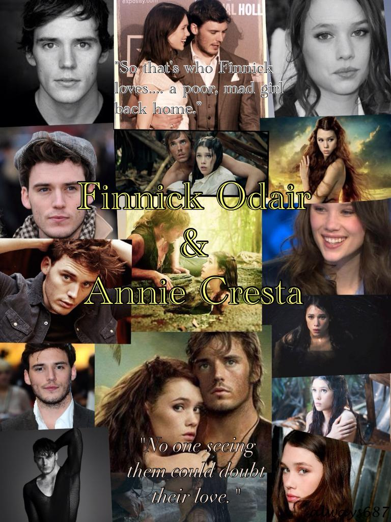 Finnick Odair and Annie Cresta by always687 on DeviantArt
