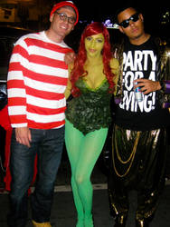 Where's Waldo, Poison Ivy, and MC Hammer by nodanaonlyzuul