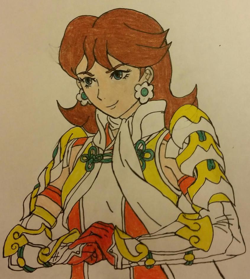 Fire Emblem Smash: Sky-Knight Class-Daisy by dcb2art