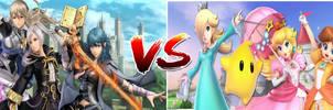 The Fire Emblem Avatars vs The Mario Princesses