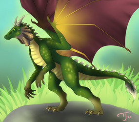 Nestor the Dragon!