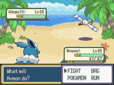 Beach Battle Background