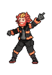 Fire Type Gym Leader Cole