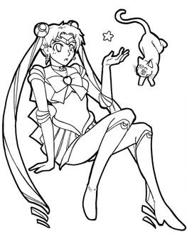Con Fanart 2 - Sailor Moon