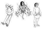 New Comic Main Characters