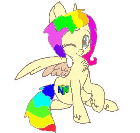 art to Rainbow tootsie by AlphaPack6