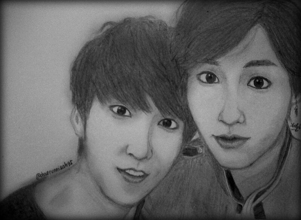 Minhyuk and Ilhoon BTOB Sketch by chaerunnisah95 on DeviantArt