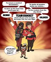 Team Crocket by Neillustrations